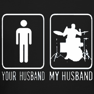 Drummer Your Husband My Husband - Crewneck Sweatshirt
