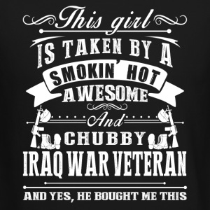 Smokin Hot Awesome Iraq War Veteran Shirt - Crewneck Sweatshirt