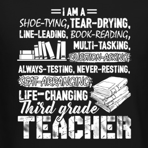 I Am A 3rd Grade Teacher Shirt - Crewneck Sweatshirt