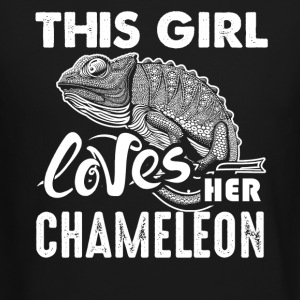 This Girl Loves Her Chameleon Shirt - Crewneck Sweatshirt