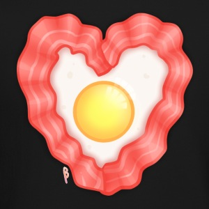 Bacon & Egg Heart - Crewneck Sweatshirt