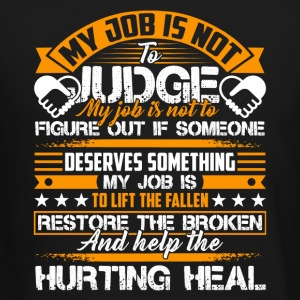 Social Worker Help The Hurting Heal Shirt - Crewneck Sweatshirt