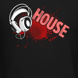 House Music Turntable DJ Tee Shirt - Crewneck Sweatshirt