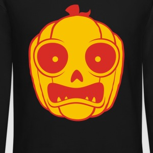 Frightened Jack O Lantern - Crewneck Sweatshirt