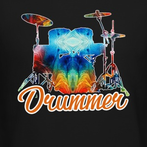 A Drummer And His Drums Shirt - Crewneck Sweatshirt