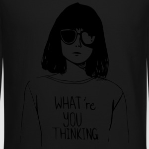 WHAT'RE YOU THINKING - Crewneck Sweatshirt