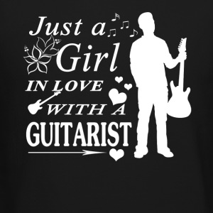 GIRL IN LOVE WITH GUITARIST SHIRT - Crewneck Sweatshirt