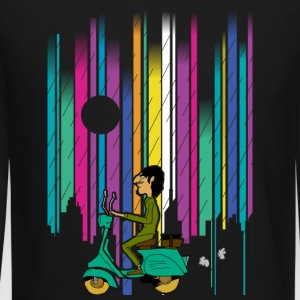 vespa t shirt design - Crewneck Sweatshirt