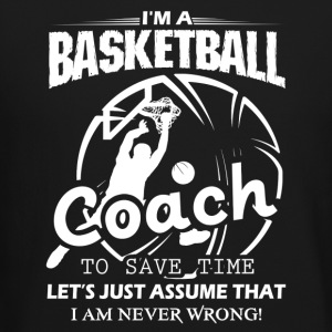 Coach Basketball T Shirt - Crewneck Sweatshirt