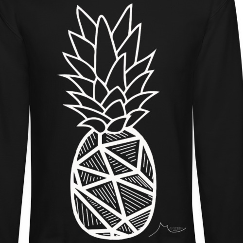 Geometry PineApple White | Limited ♕ - Crewneck Sweatshirt