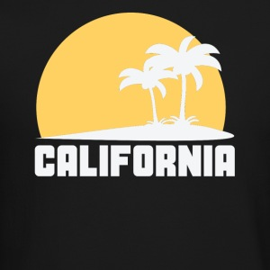 California Sunset Palm Trees Beach - Crewneck Sweatshirt