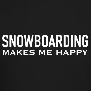 HAPPY SNOWBOARDING - Crewneck Sweatshirt