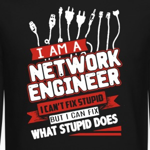 NETWORK ENGINEER SHIRT - Crewneck Sweatshirt