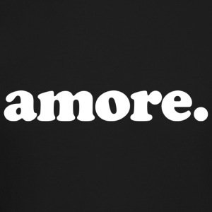 Amore - Fun Design (White Letters) - Crewneck Sweatshirt