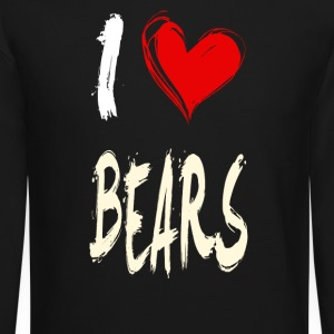 I love BEARS - Crewneck Sweatshirt