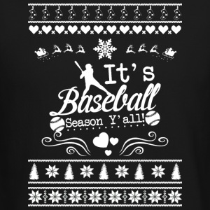 Merry Christmas Baseball T Shirt - Crewneck Sweatshirt