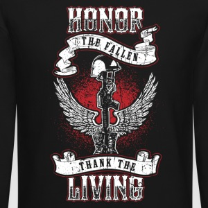 Honor The Fallen! USA Patriot! - Crewneck Sweatshirt