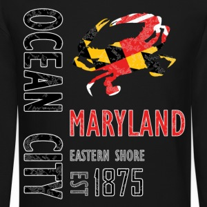 Ocean City Maryland Crab - Crewneck Sweatshirt