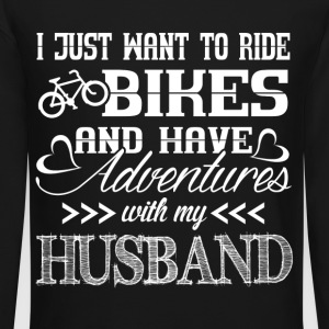 Ride Bikes With My Husband - Crewneck Sweatshirt