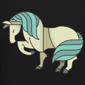 Blue Pony Graphic - Crewneck Sweatshirt