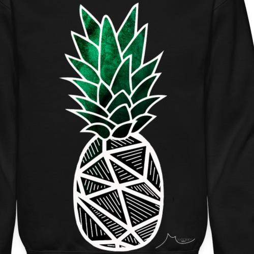 Green Geometry PineApple | Collector ♛ - Crewneck Sweatshirt