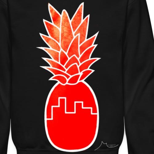 Red Building PineApple | Collector ♛ - Crewneck Sweatshirt
