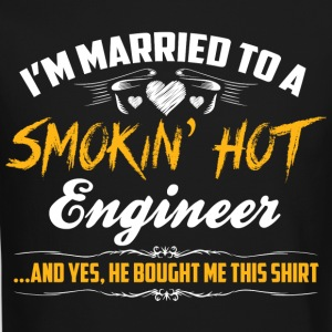 engineer married - Crewneck Sweatshirt