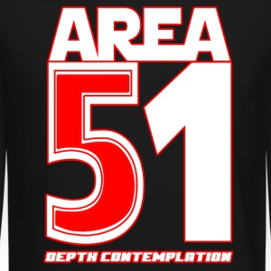 Area 51 T-Shirt Depth Contemplation - Crewneck Sweatshirt