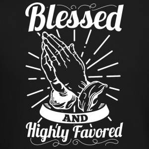 Blessed And Highly Favored (Alt. White Letters) - Crewneck Sweatshirt
