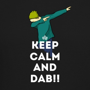 keep calm dab dabbing football touchdown LOL - Crewneck Sweatshirt