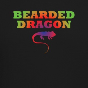 Bearded Dragon Cool Lizard Tee Shirt - Crewneck Sweatshirt