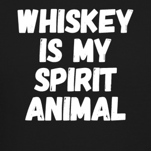 whiskey is my spirit animal - Crewneck Sweatshirt