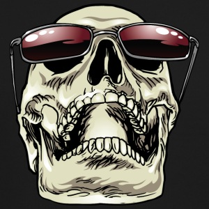 Skull_with_sunglasses - Crewneck Sweatshirt