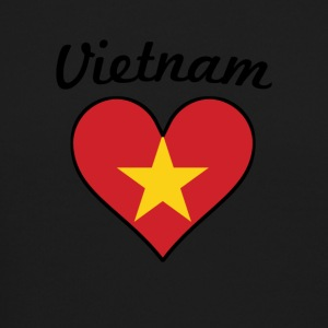 Vietnam Flag Heart - Crewneck Sweatshirt