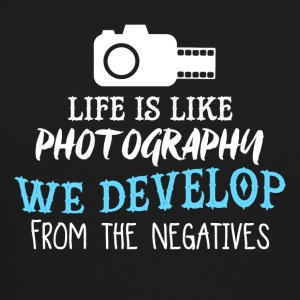 Life Is Like Photography PNG - Crewneck Sweatshirt