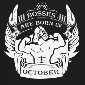 Bosses are born in October - Crewneck Sweatshirt