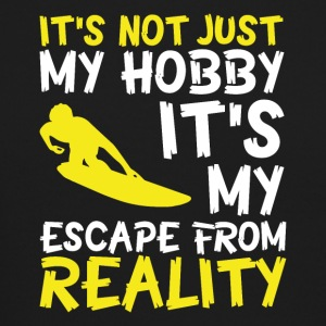 snowboarding escape from reality - Crewneck Sweatshirt