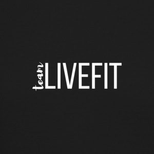 Team_LiveFit_Logo_WHITE - Crewneck Sweatshirt