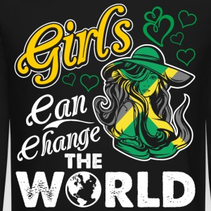 Jamaican Girls Can Change The World - Crewneck Sweatshirt