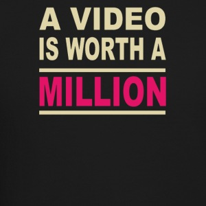 A video is worth a million - Crewneck Sweatshirt