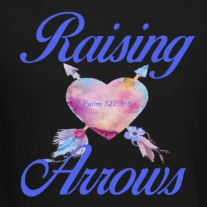 Raising Arrows-Psalm 127 - Crewneck Sweatshirt