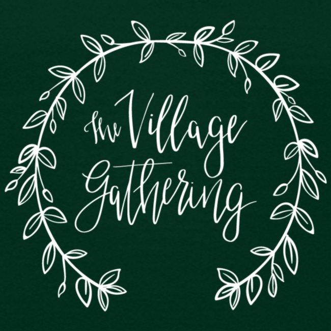 The Village Gathering // White Logo