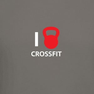 i love crossfit - Crewneck Sweatshirt