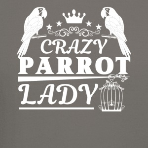 Crazy Parrot Lady Shirt - Crewneck Sweatshirt