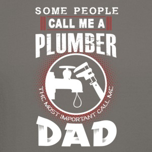 Some People Call Me A Plumber Dad Shirt - Crewneck Sweatshirt