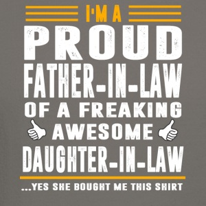I m A Proud Father In Law Of A Freaking Awesome Da - Crewneck Sweatshirt