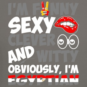 Im Funny Sexy Clever And Witty Im Egyptian - Crewneck Sweatshirt