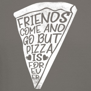 Friends come and go but pizza is forever - Crewneck Sweatshirt