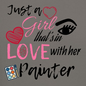 Just a girl that's in love with her painter - Crewneck Sweatshirt