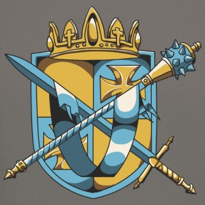 shield_with_mace_and_sword - Crewneck Sweatshirt